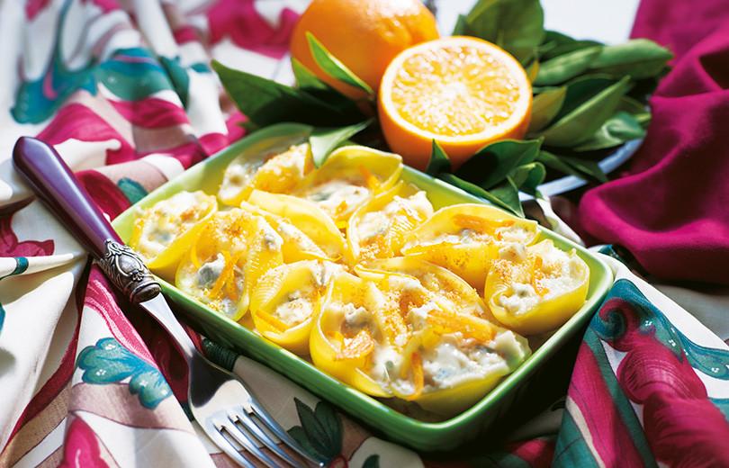 Conchiglioni-farciti-al-gorgonzola